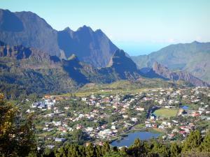 Cilaos - Village de la Réunion