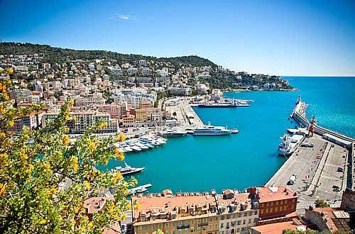 Panorama Port de Nice