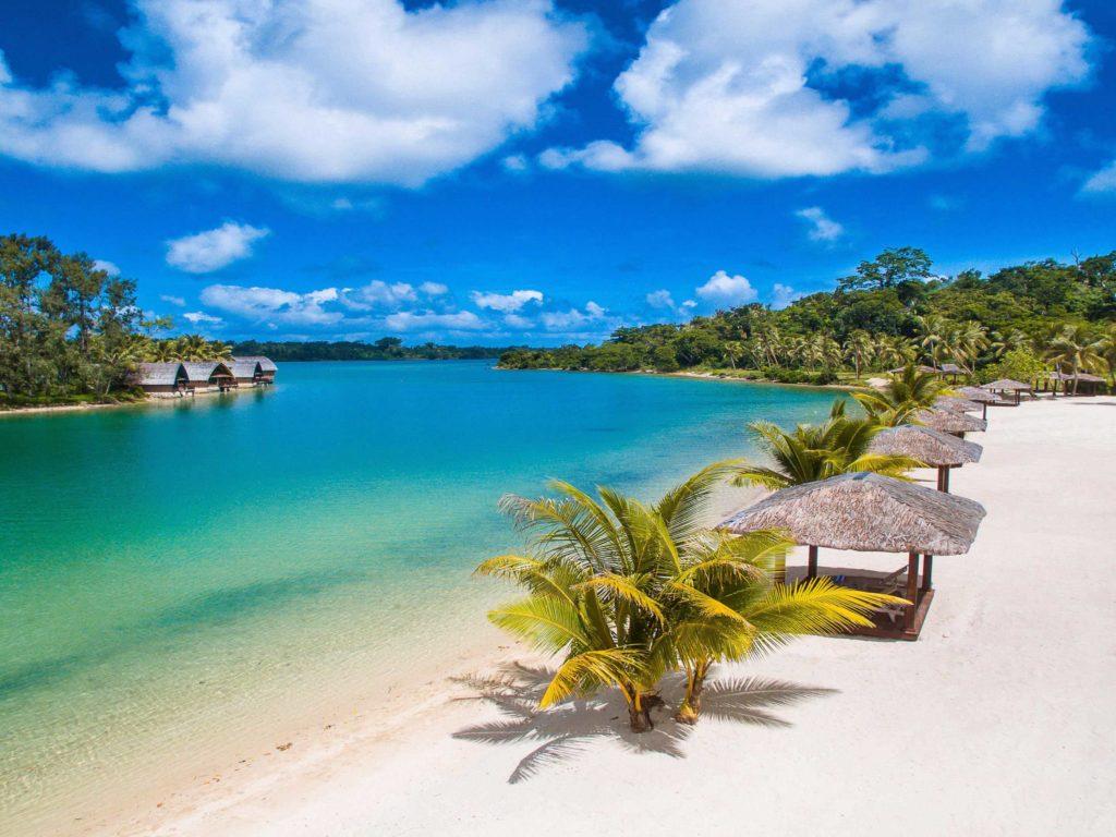 Vanuatu - Port Vila plage