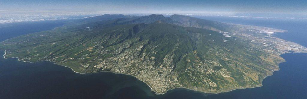 La Réunion - Photo vue du ciel