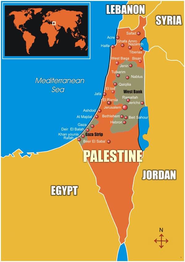 palestine-carte