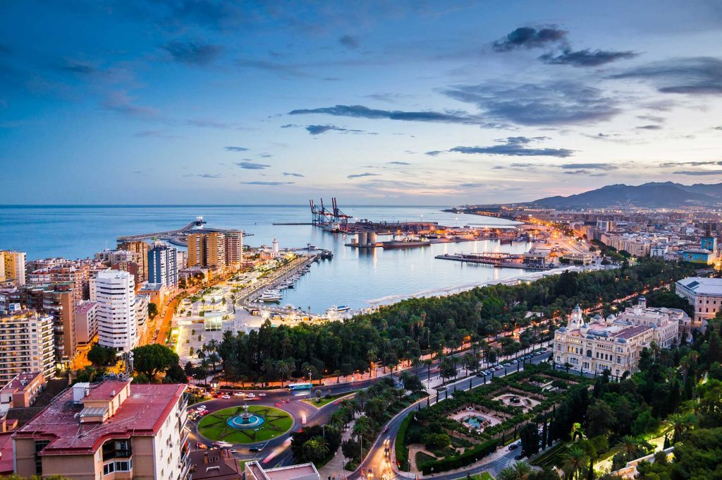 Panorama Malaga