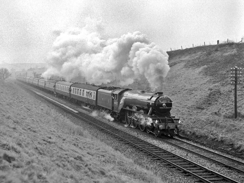 Trains et locomotives