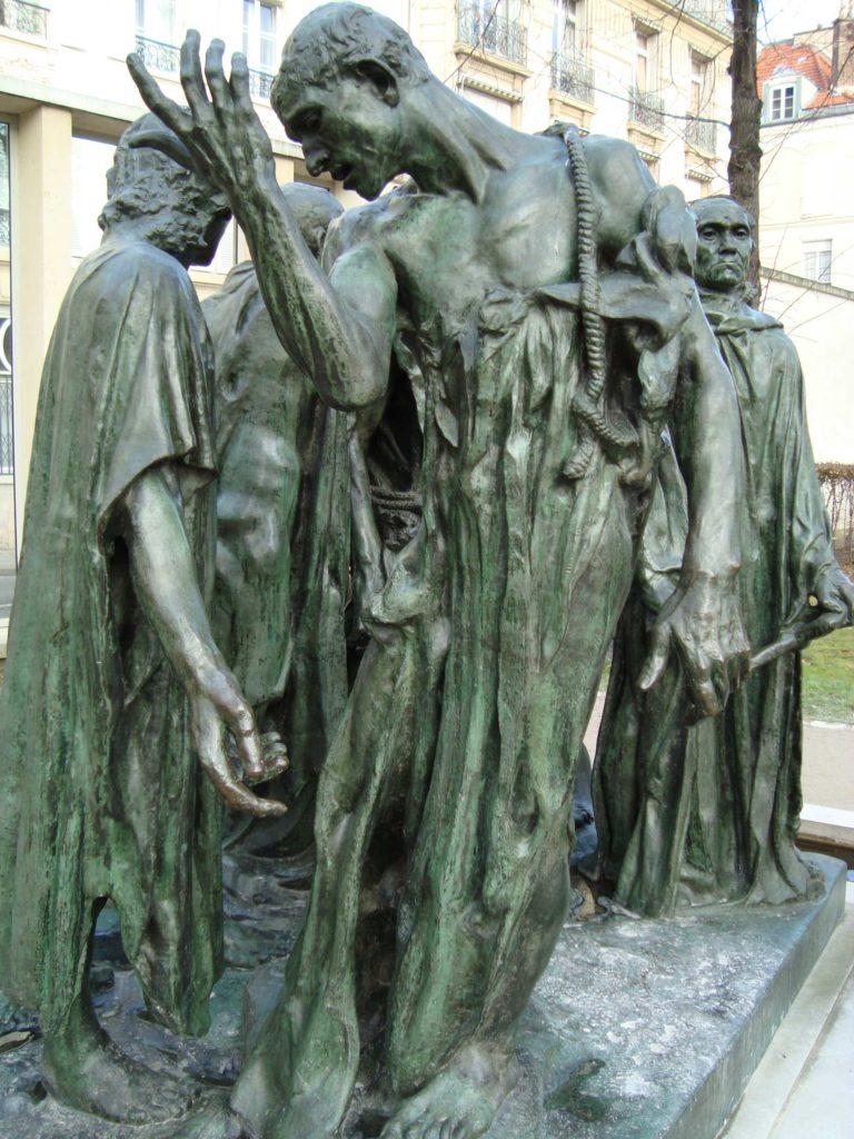 Les bourgeois de calais - Rodin