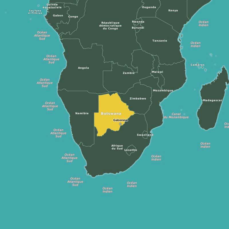 Carte-Botswana-Gaborone