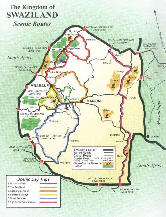 Carte-Swaziland