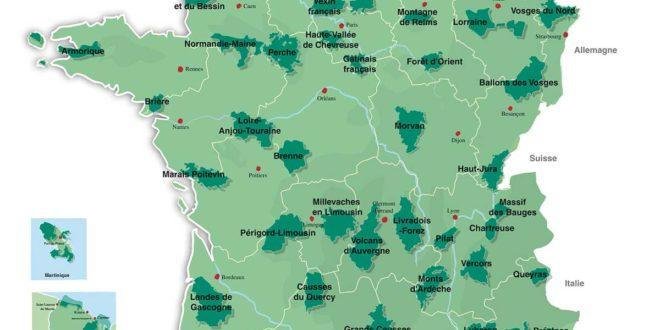 Carte des Volcans - France