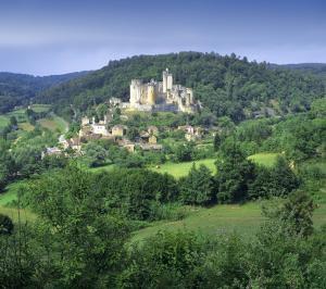 Chateau de Bonaguil - Lot et Garonne