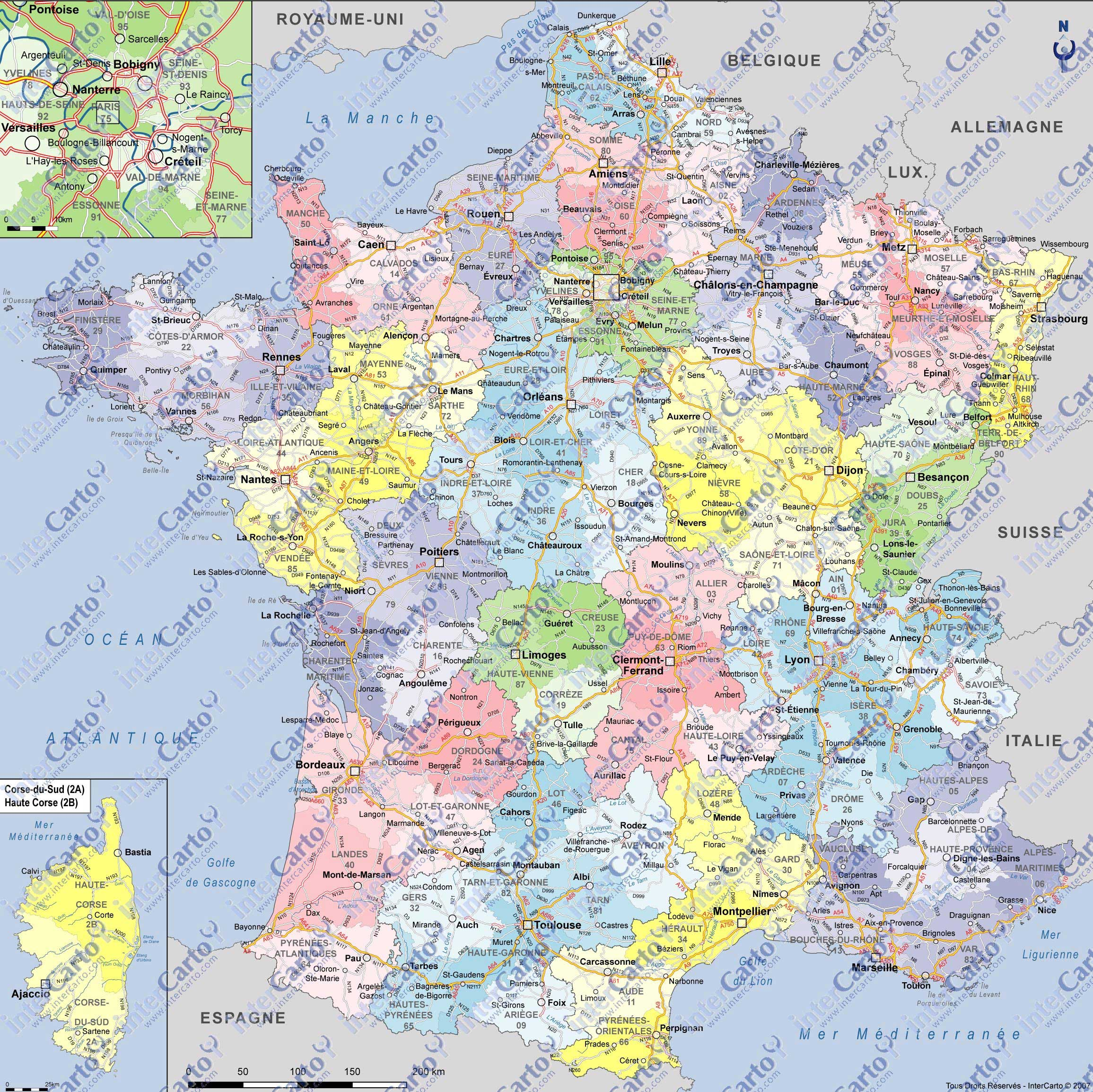 vacances france geographie