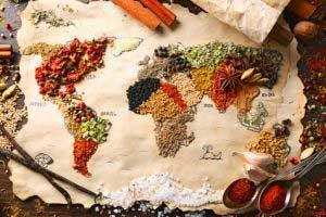 Gastronomie dans le monde
