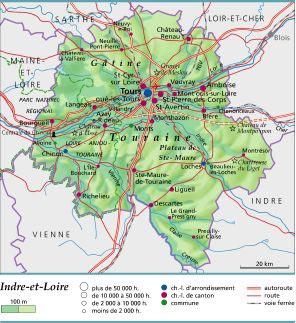 Indre et Loire département 37