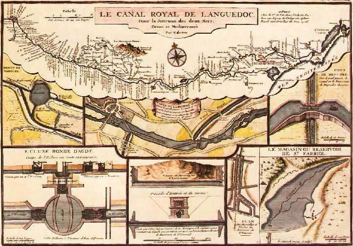 Canal du Midi - Construction