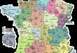 Carte de France - Départements