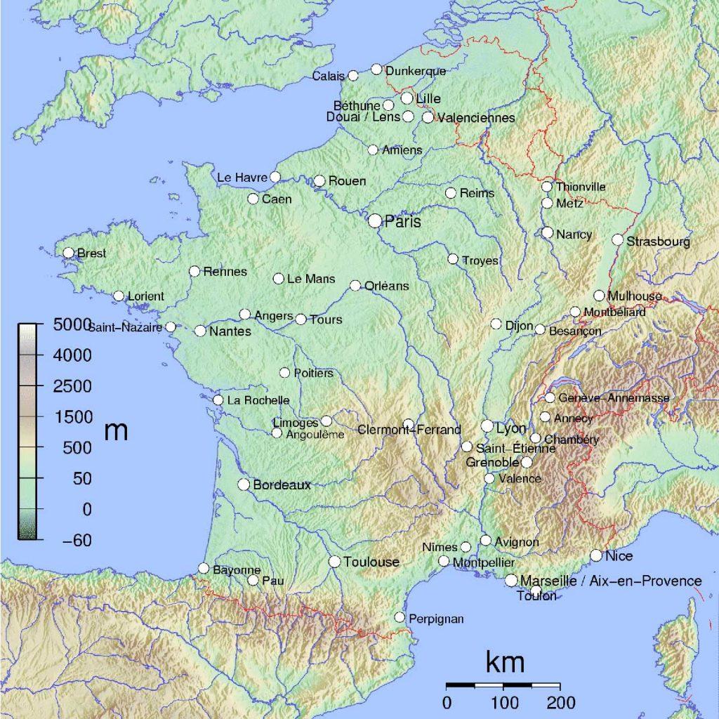 carte-france-fleuves-relief
