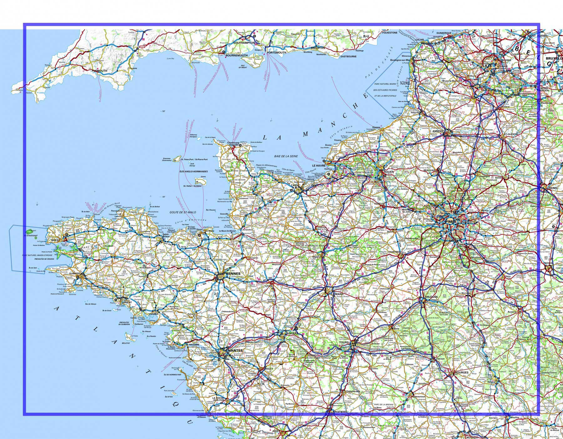 France nord ouest
