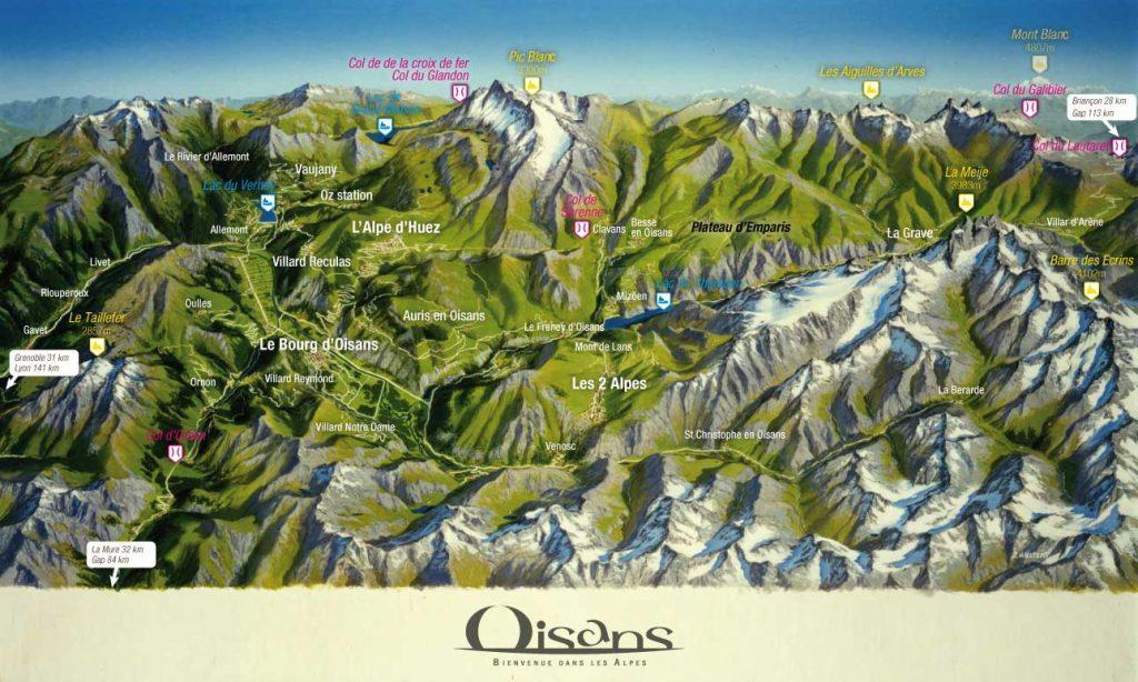 carte-panoramique-montagne-oisans