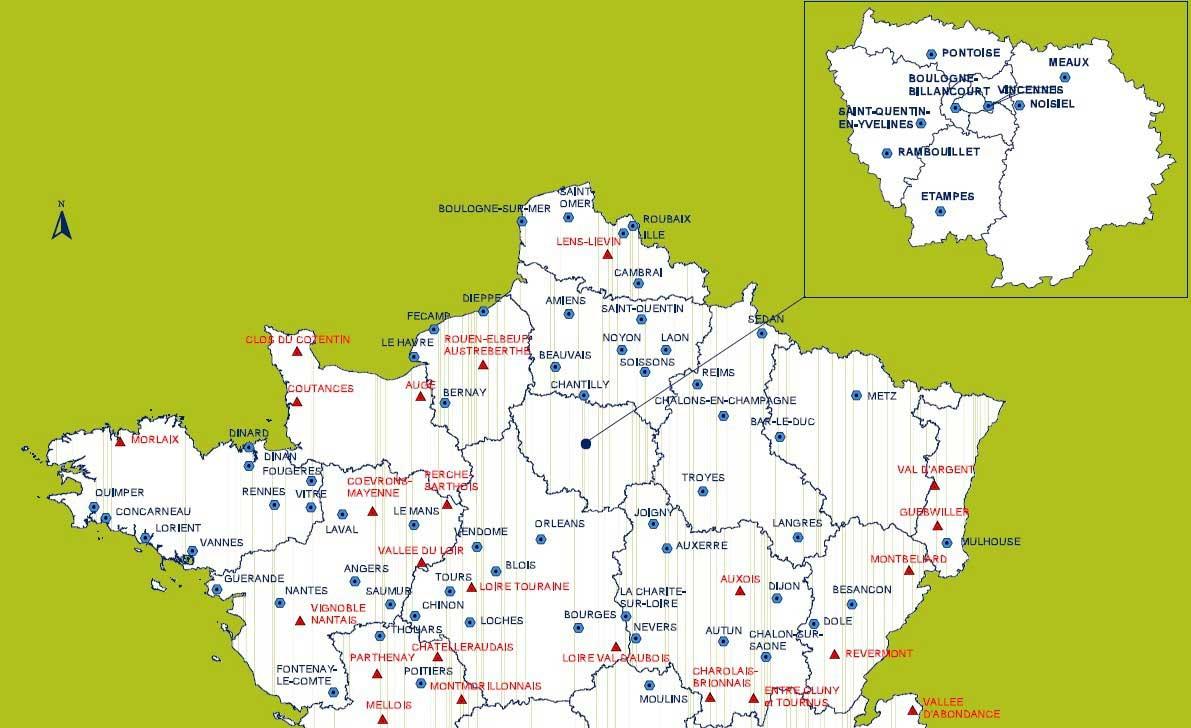 Nord De La France Carte | popkensburg