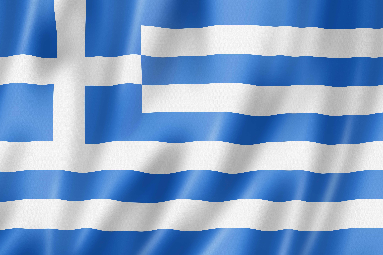 grece drapeau - Image