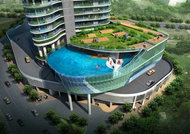 piscine pour balcon vacances arts guides voyages. Black Bedroom Furniture Sets. Home Design Ideas