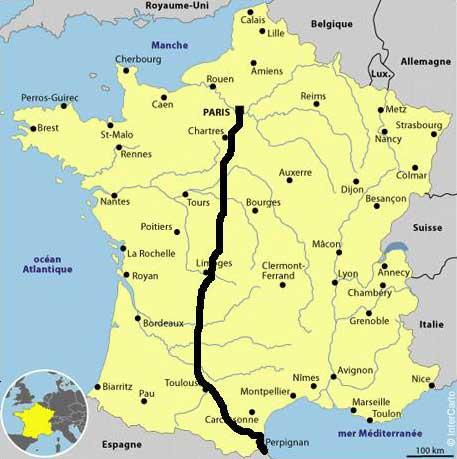 Itinéraire - France
