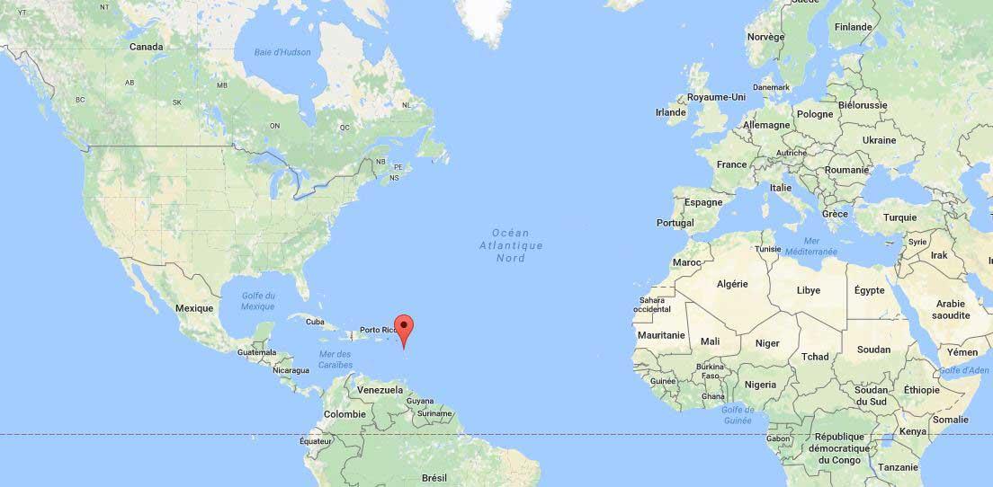 Carte Du Monde Guadeloupe.Guadeloupe Carte Du Monde Vacances Arts Guides Voyages