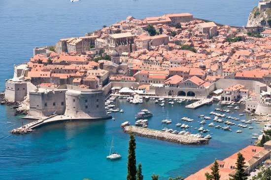 mer adriatique-Dubrovnik