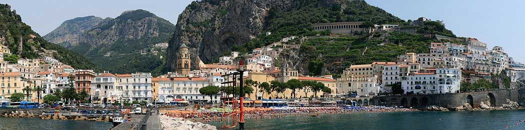 Amalfi - Photo panoramique