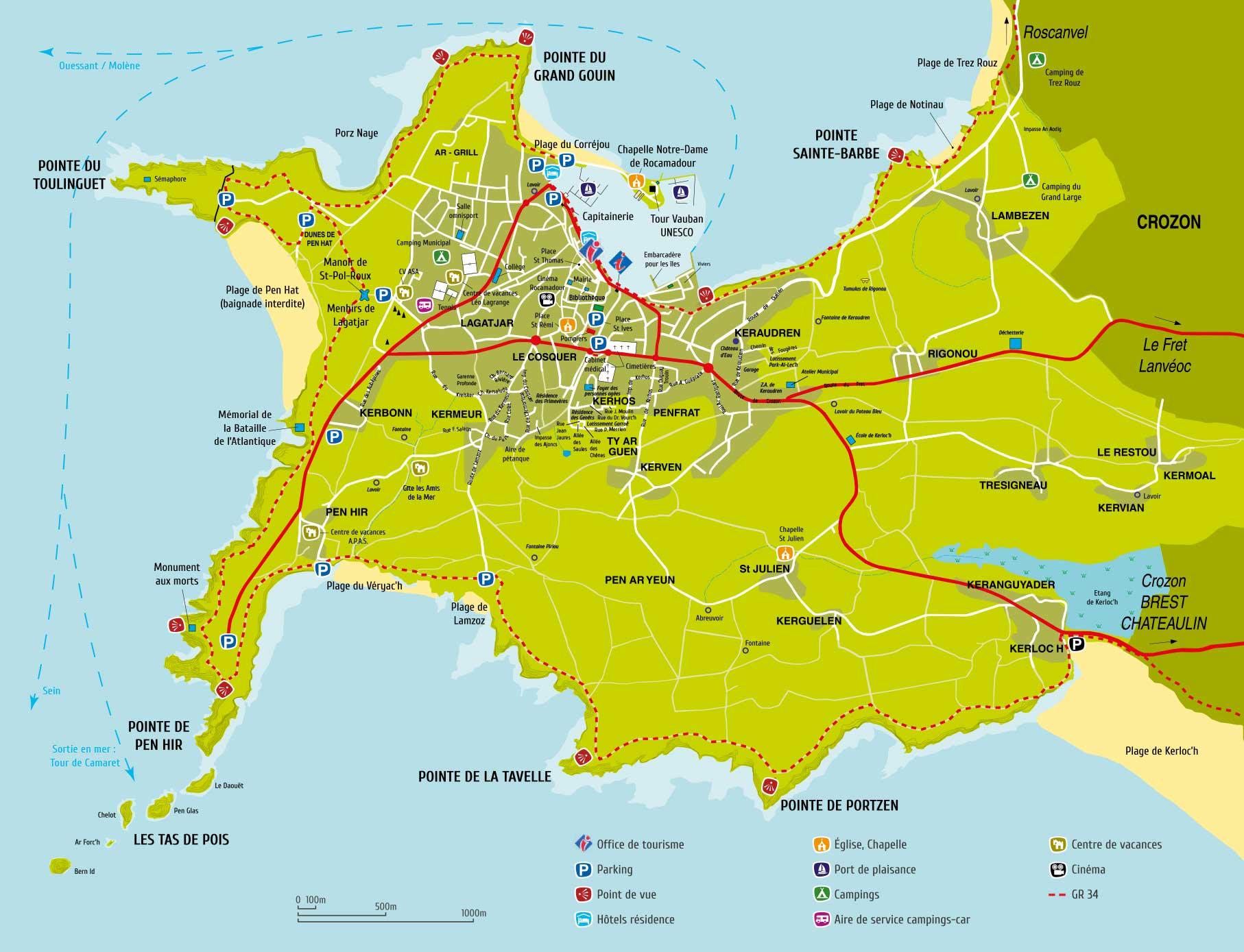 Camaret sur mer vacances arts guides voyages - Office du tourisme de camaret sur mer ...