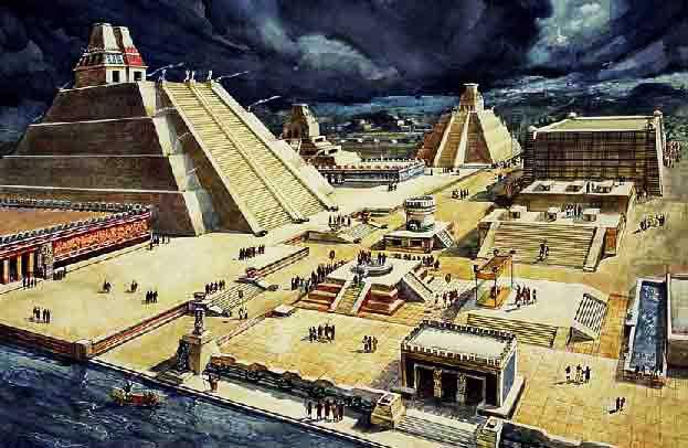 Pyramides de Tenochtitlan