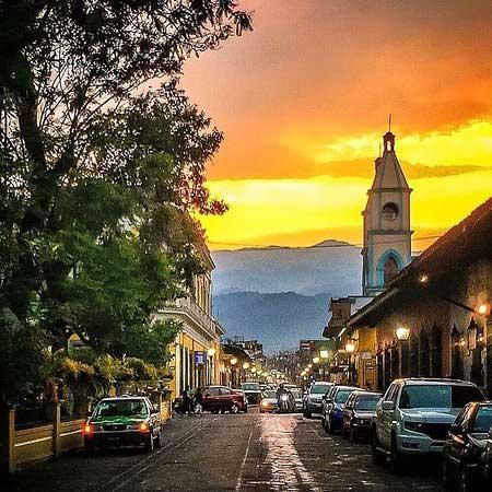 Coatepec - photo de nuit