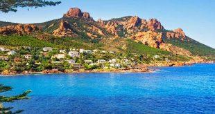 Esterel sur la côte d'Azur