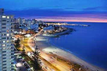 Punta del Este - Photo de nuit