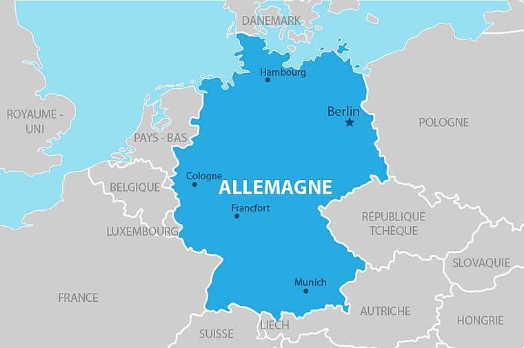 Allemagne-Carte