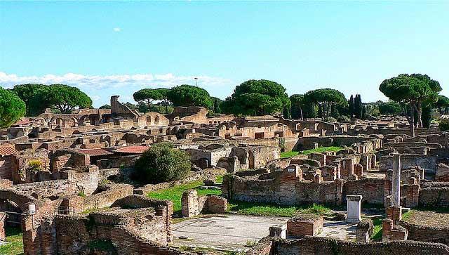 Ostie-ancien-port-romain