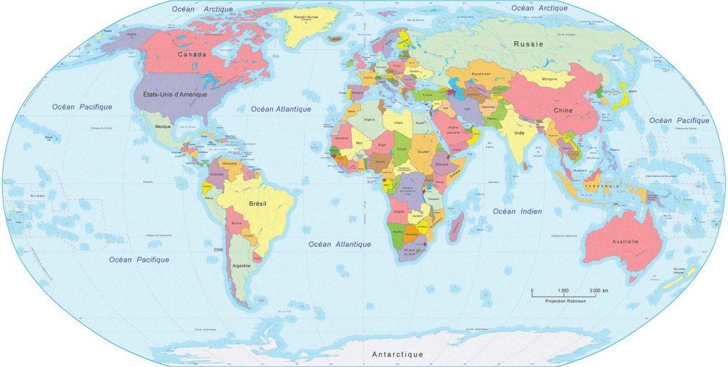 mappemonde - Atlas