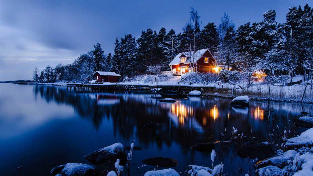 La Suède en hiver