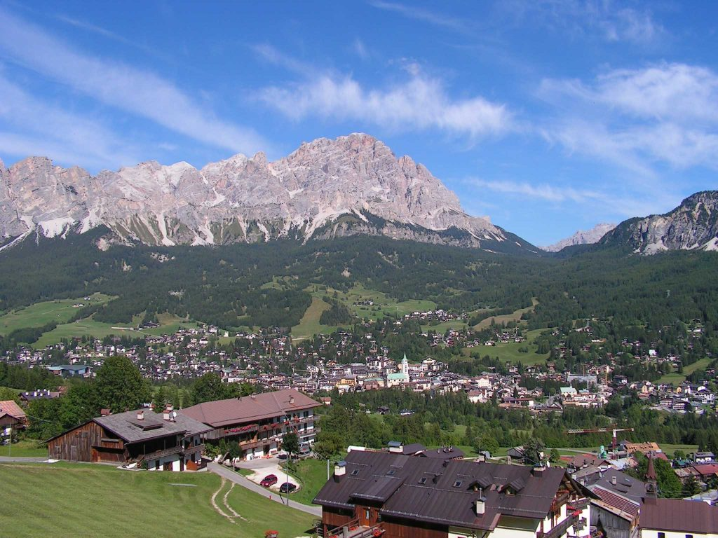 Village de Cortina d'Ampezzo
