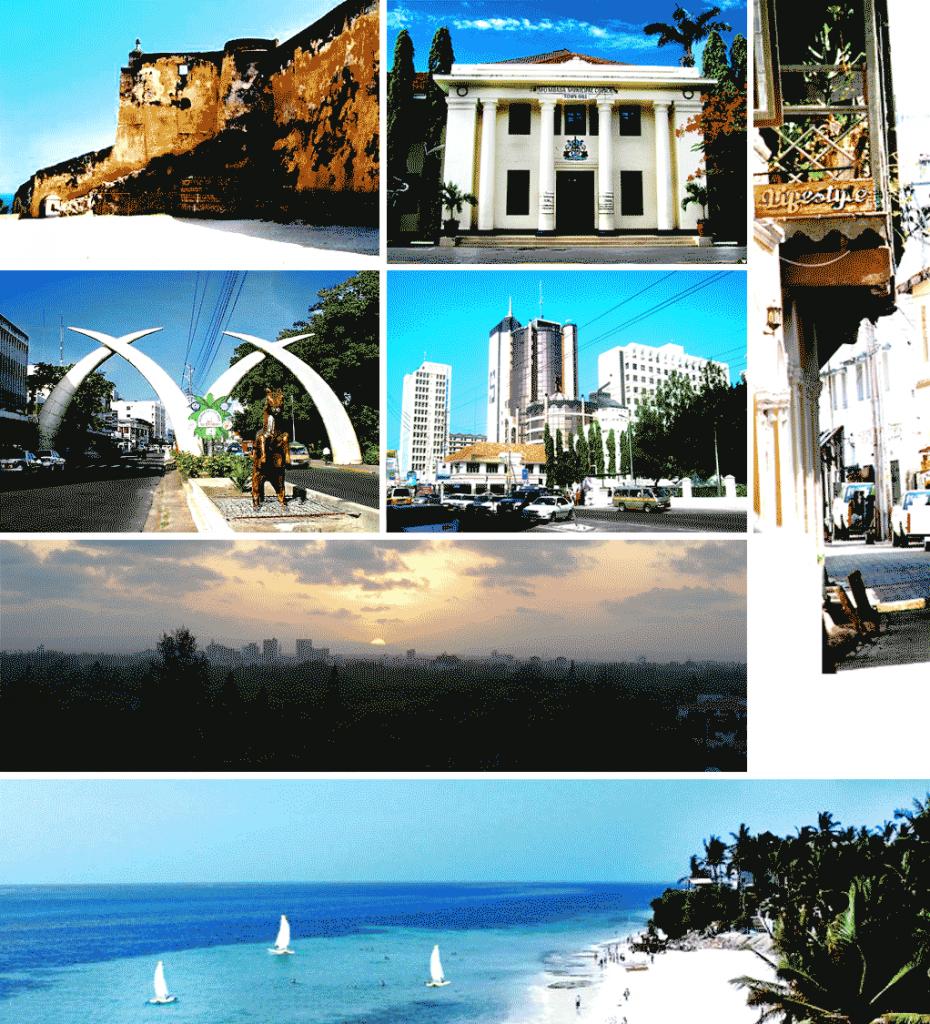 Mombasa - Carte postale
