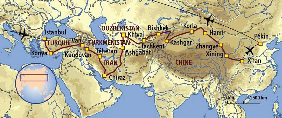 Route de la soie - Turquie