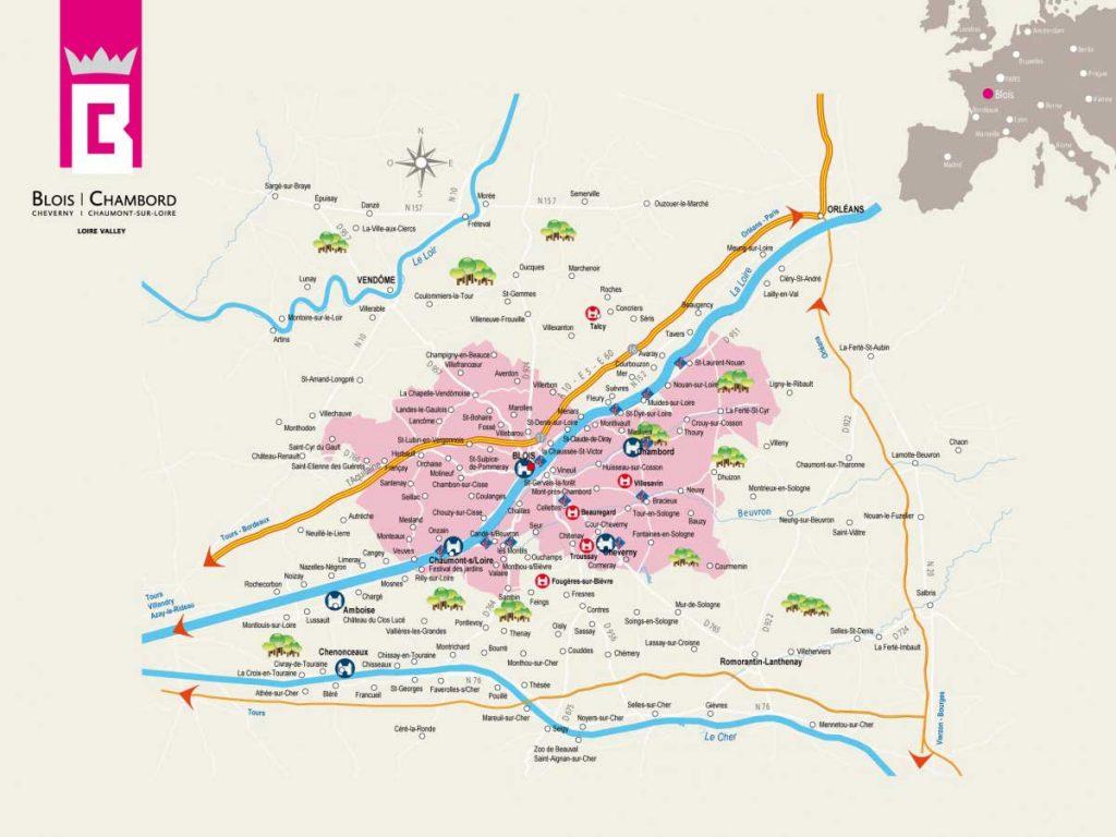 Carte de Blois