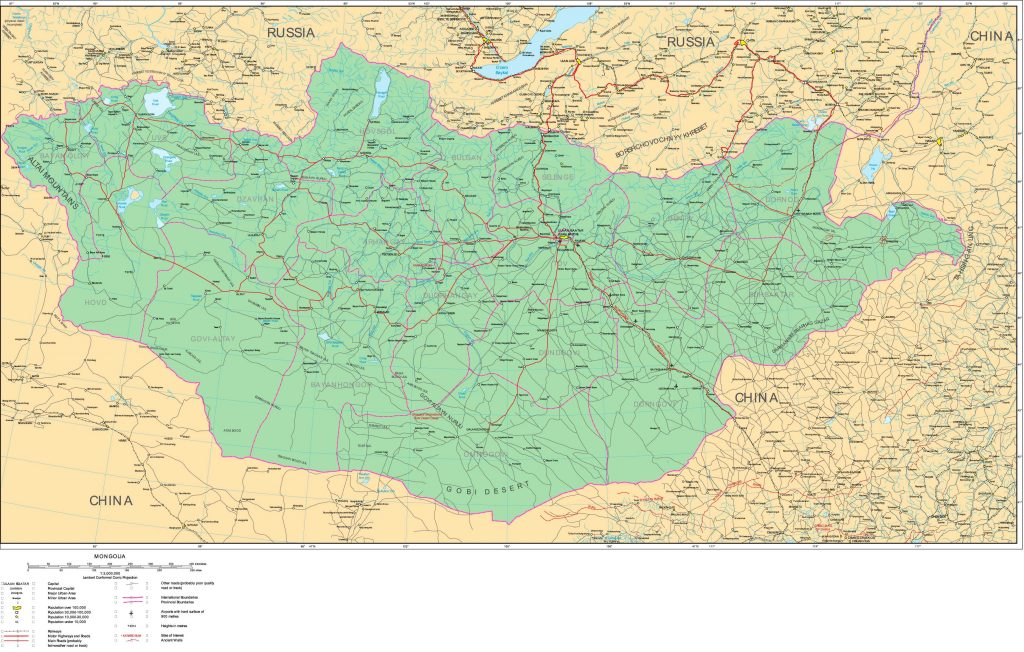 carte-routiere-mongolie