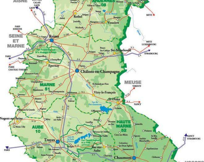 Ardennes Carte