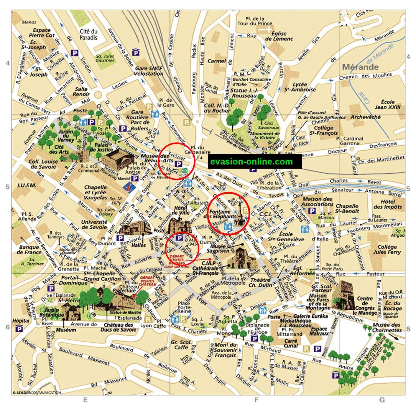 Plan de Chambéry