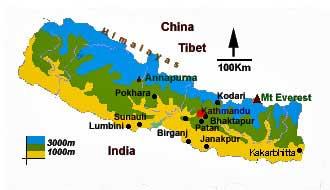 Himalaya - Les pays