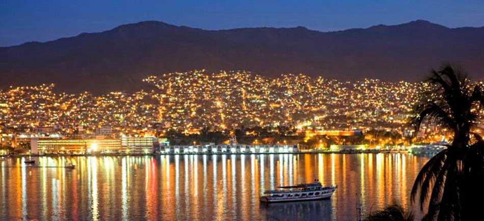 Acapulco vue de nuit