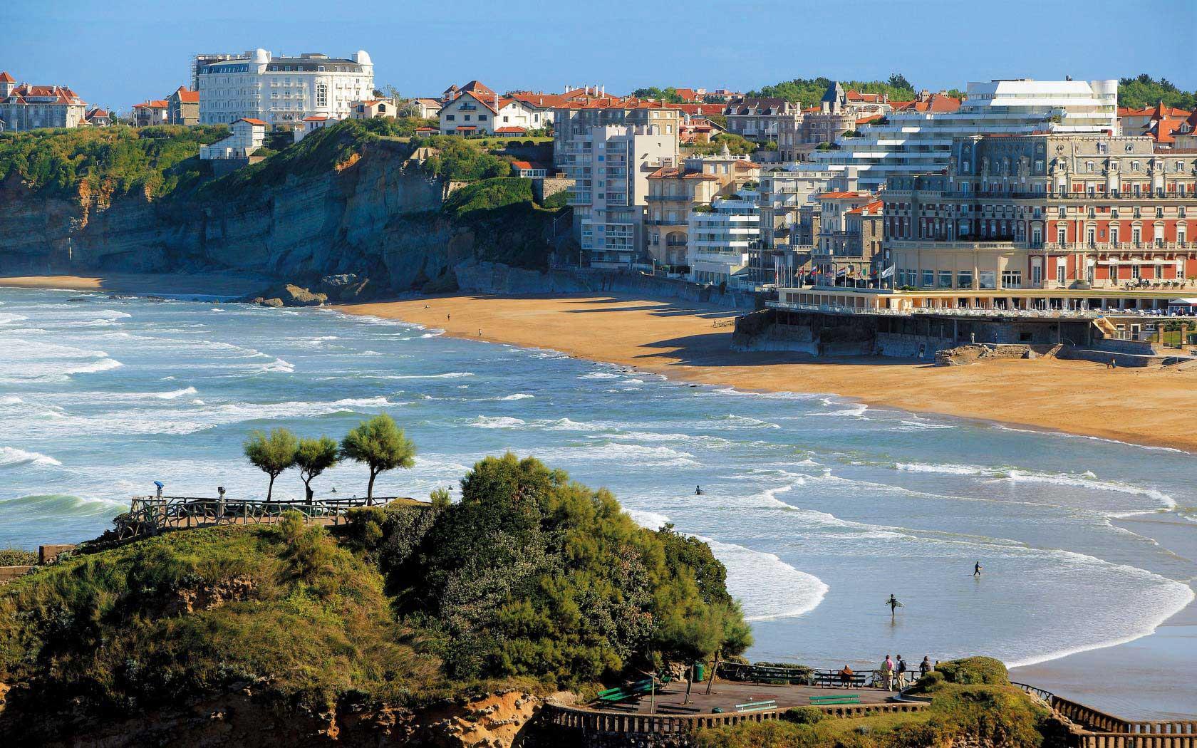 Biarritz plage