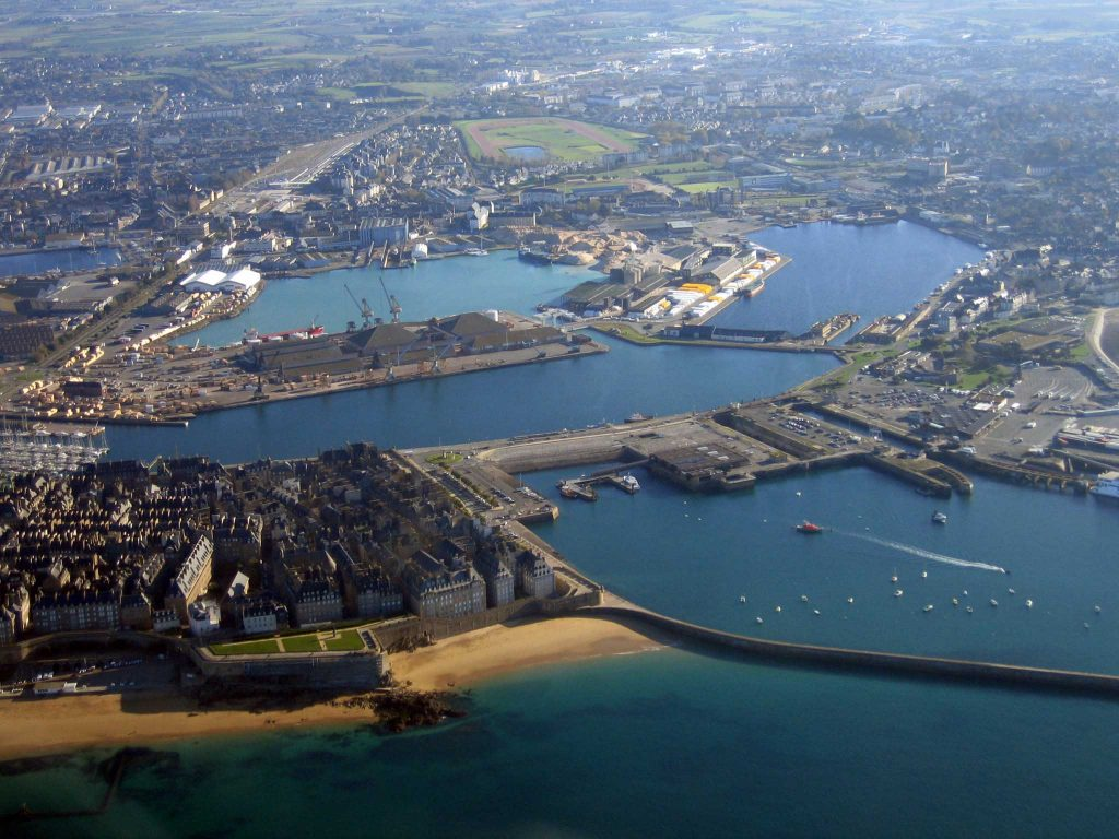 St Malo - photo aérienne