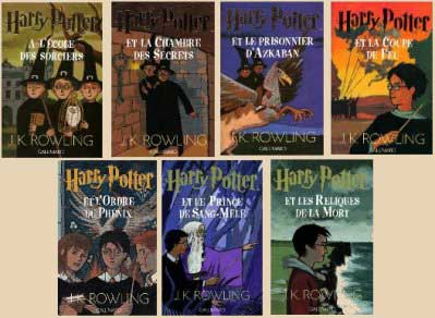 Livres et saga Harry Potter
