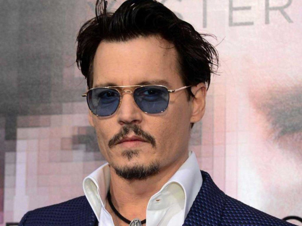 Johnny Depp jeune