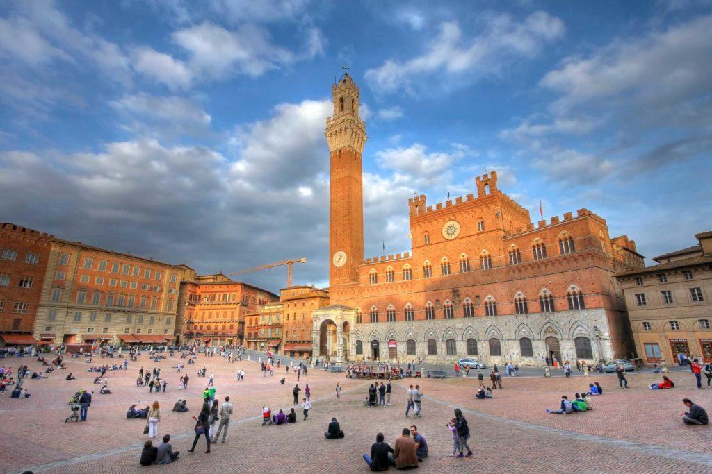 La Piazza del Campo - Sienne